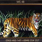 Tranh thêu con hổ – Những điều bí ẩn về chúa tể sơn lâm