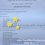 Tranh thêu tay Huế ký hợp đồng THÊU TRANH THEO YÊU CẦU khách hàng Bến Tre