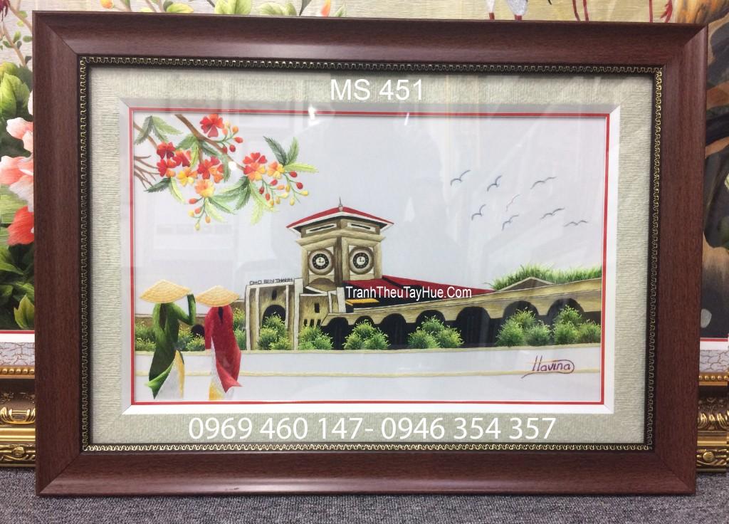 tranh thêu tay làm quà tặng doanh nghiệp
