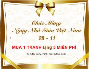Quà mừng ngày nhà giáo Việt Nam