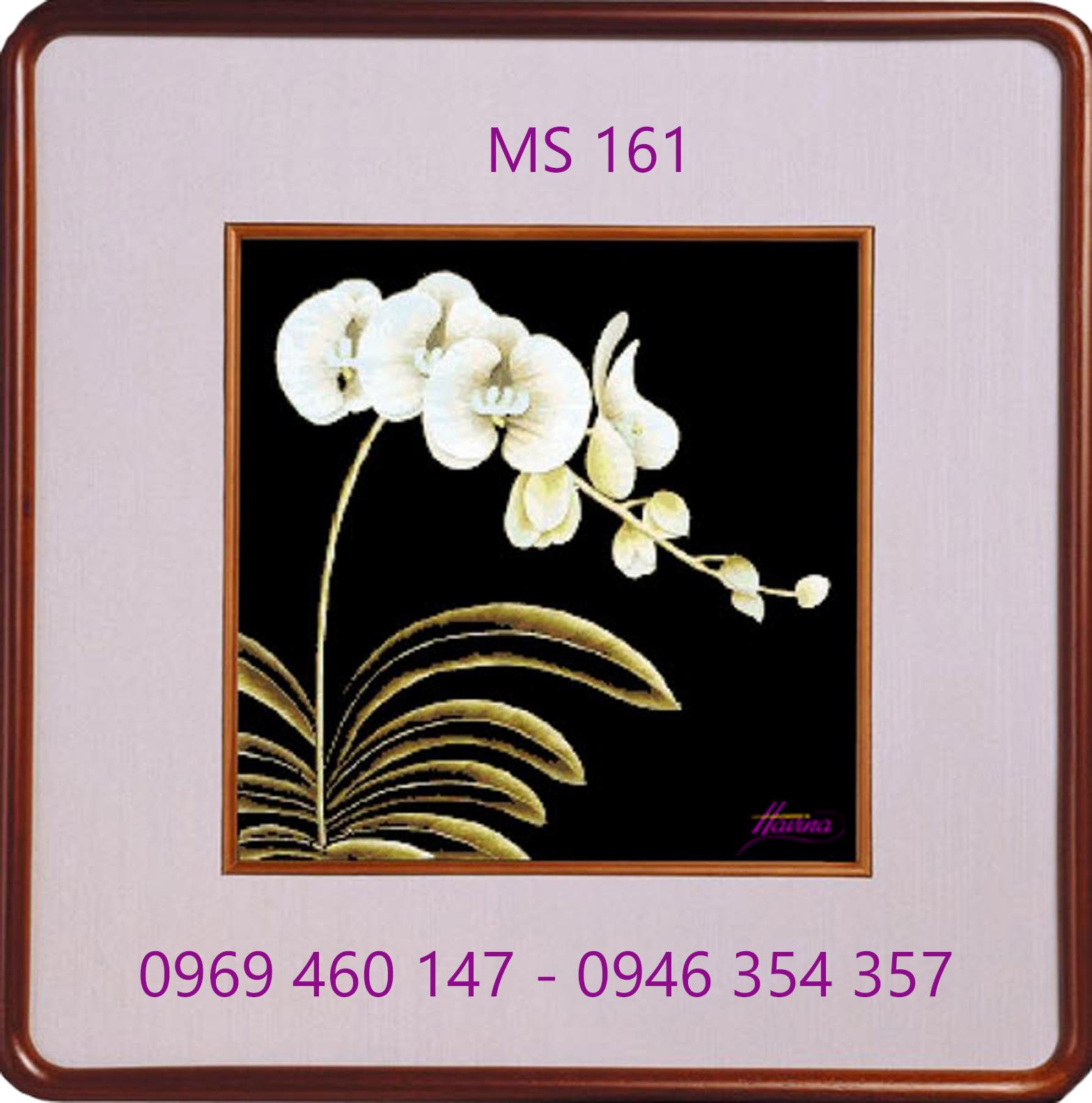 tranh thêu hoa lan 161