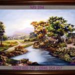 Tại Sao Nên Treo tranh thêu phong cảnh làng quê Việt Nam