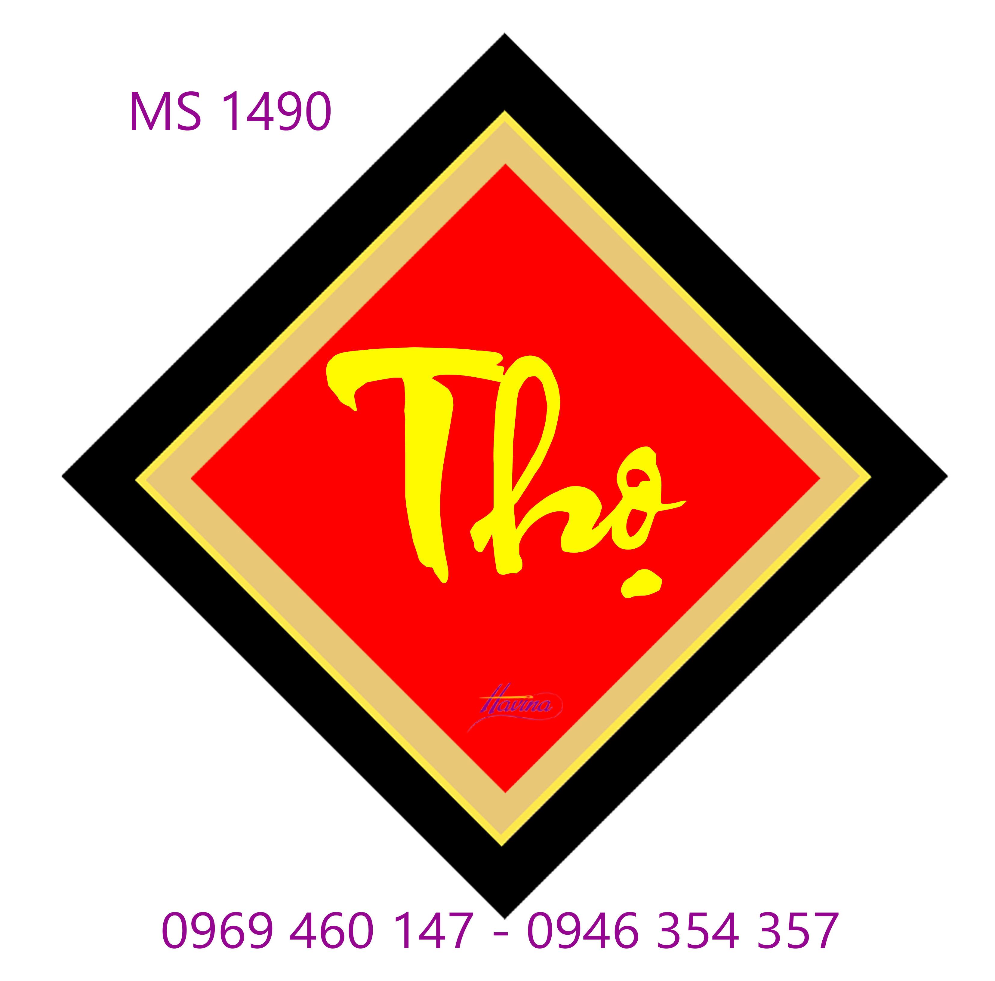 Tranh thêu chữ thọ 1490