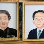 Havina hoàn thành tranh thêu chân dung ba mẹ cho tổng giám  đốc công ty Phi Kha, TP.HCM