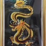 Tranh thêu tay Huế thực hiện tác phẩm tranh thêu con rồng MS 701 theo yêu cầu anh Luân ở Cần Thơ