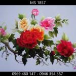 Lý do bạn nên chọn tranh thêu hoa mẫu đơn 9 bông