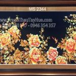 Ý NGHĨA SÂU SẮC CỦA tranh thêu hoa mẫu đơn 8 bông