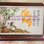 Tranh thêu tay Huế giúp anh chị Duy An hoàn thiện món quà sinh nhật ý nghĩa cho cha mẹ