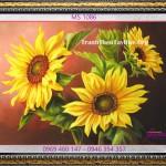 """Tranh thêu hoa hướng dương – Bí mật về loài hoa """"mặt trời"""""""