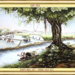Tranh thêu tay Huế – HAVINA hoàn thiện 3 bức tranh thêu theo yêu cầu của vợ chồng chị Mai
