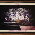 Sự tích và ý nghĩa hoa cúc trong tranh thêu