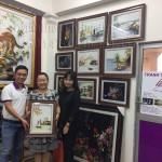 Tranh thêu tay Huế hòan tất đơn hàng 30 bức tranh thêu tặng đối tác nước ngoài