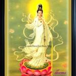 Mẹo bài trí và  cách treo tranh thêu Phật Bà Quan Âm trong nhà để bình an