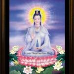 Hoàn thiện tranh thêu Phật Bà Quan Âm ms 1114 cho chị Minh Thu đến từ Hà Nội