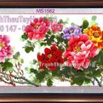 Tranh hoa khai phú quý – Mang cả phú quý, vinh hoa về nhà!