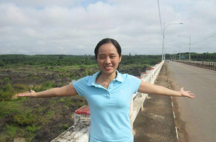 Ms Như Ý - Chủ sáng lập www.TranhTheuTayHue.com