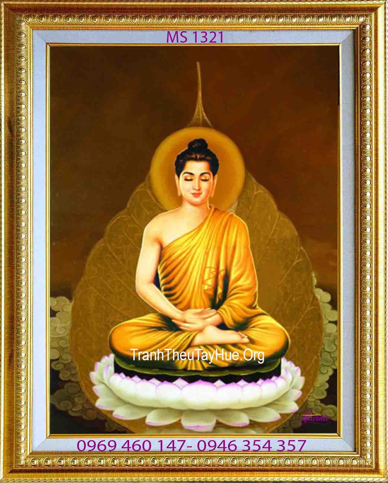 Thiêng liêng…bức tranh thêu Đức Phật Thích Ca Mâu Ni